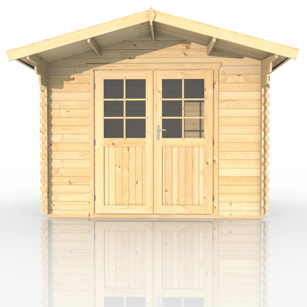 gartenhaus kunststoff g nstig tepro factor 8x6. Black Bedroom Furniture Sets. Home Design Ideas