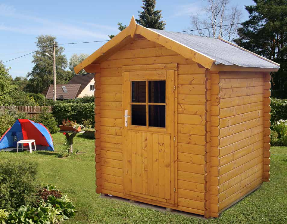 Einzigartig Gerätehäuser Holz - Massivholz Gartenhäuser DB98