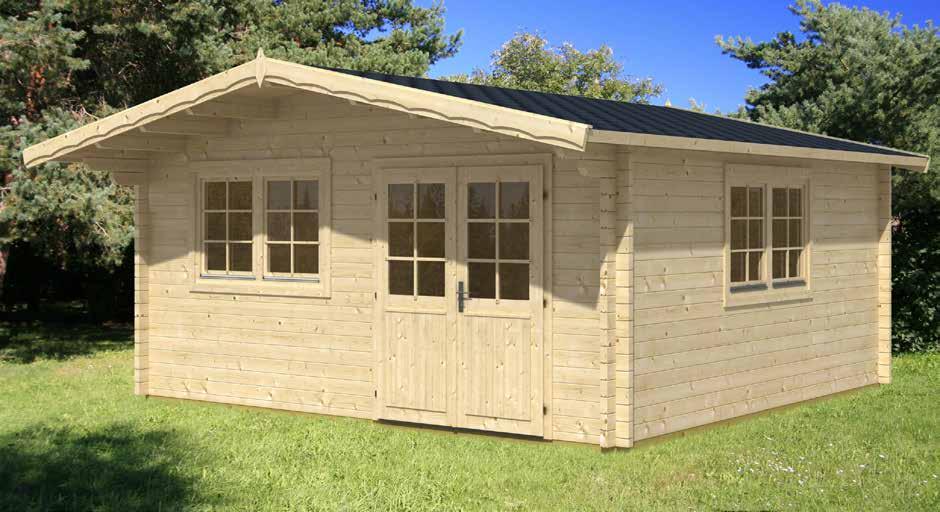 Gartenhaus Mit Fußboden 28mm ~ Gartenhäuser :: blockhäuser mit 70 mm wandstärke. :: gartenhaus