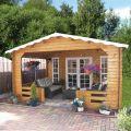 Gartenhaus mit Vordach 40396