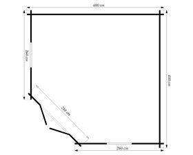 Gartenhaus Maße 40398