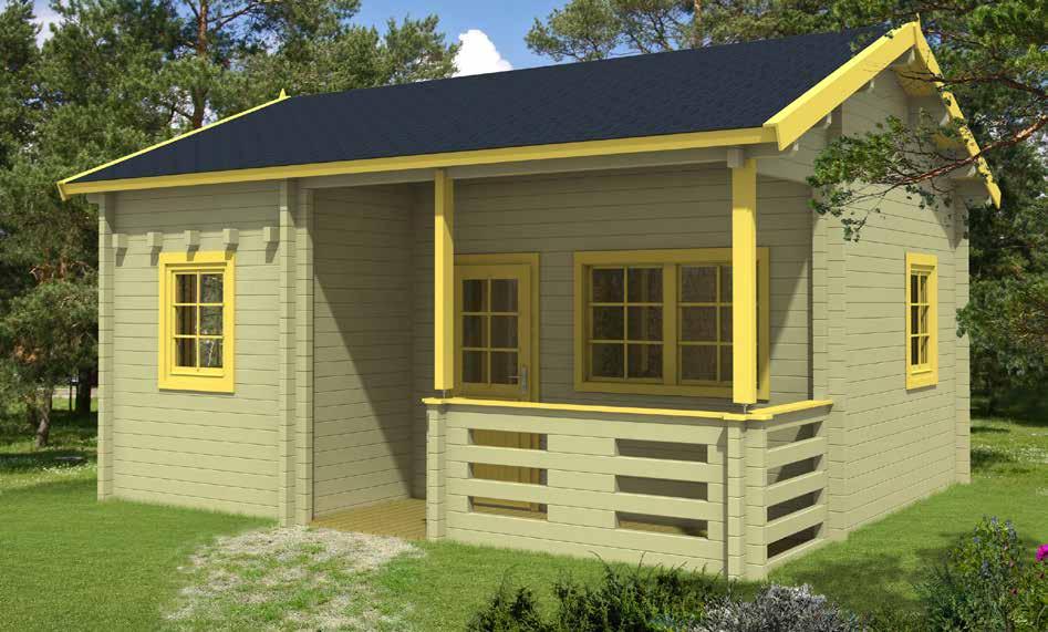 gartenh user blockh user mit 70 mm wandst rke gartenhaus 375817 ab 440x595cm 58 70mm. Black Bedroom Furniture Sets. Home Design Ideas