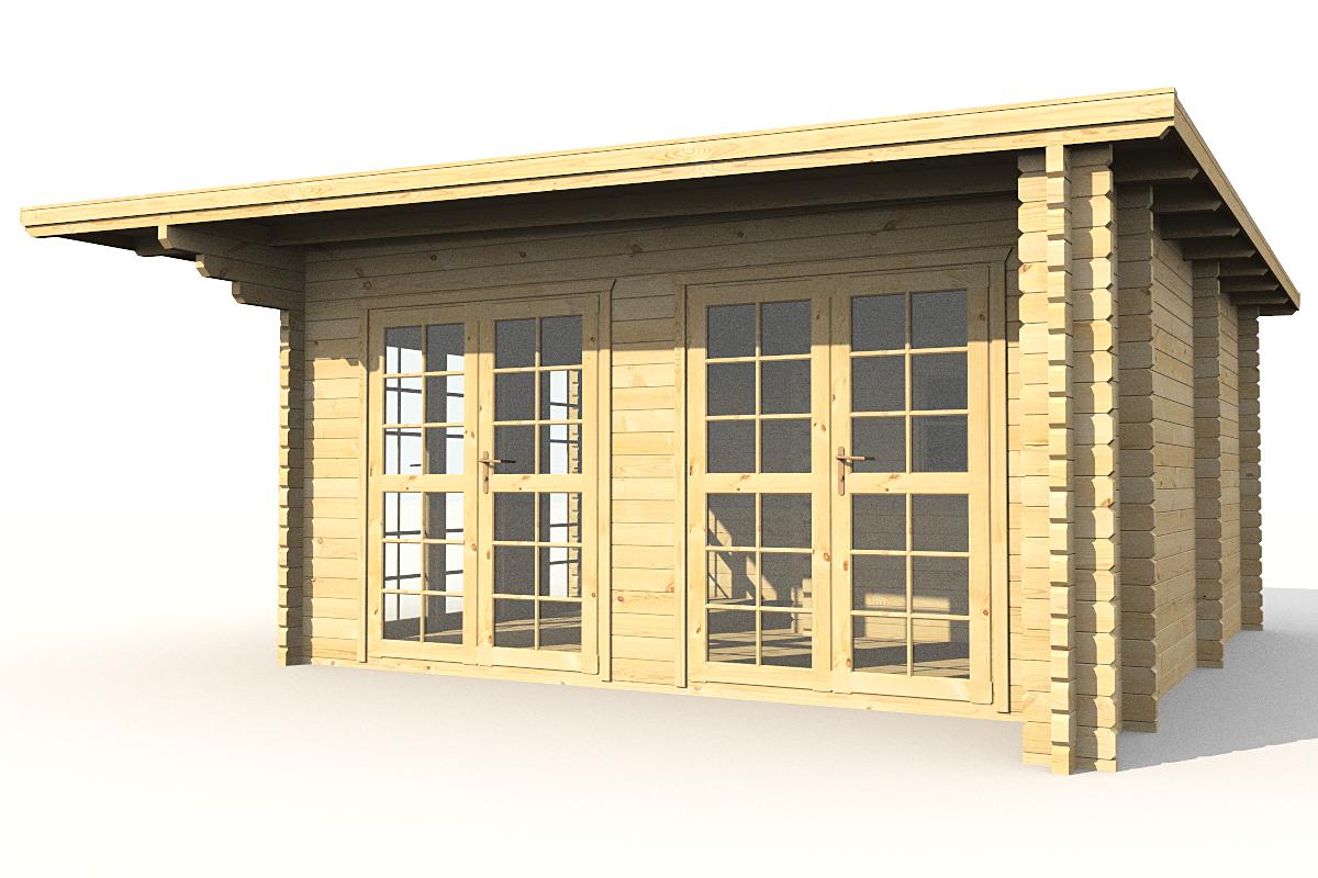 gartenh user gartenhaus nach mass gartensauna 584221 570x570cm 58mm. Black Bedroom Furniture Sets. Home Design Ideas