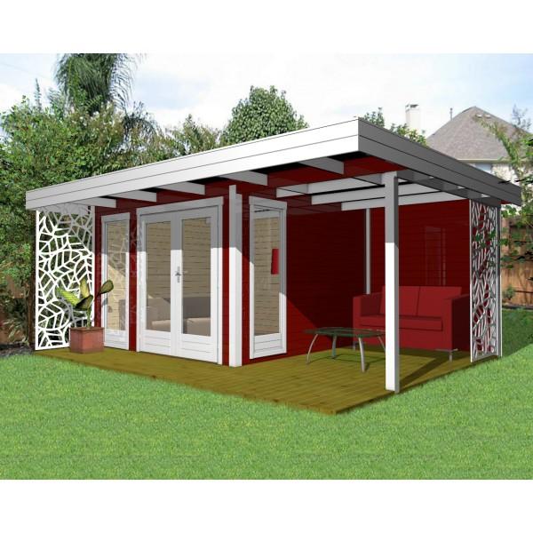 gartenhaus blockhaus ger tehaus holz 390x390 40 mm 4039228. Black Bedroom Furniture Sets. Home Design Ideas