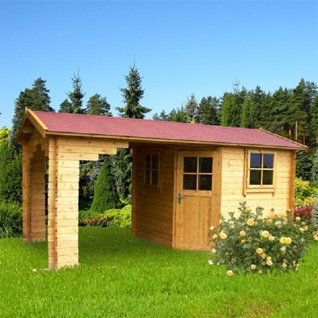 Gartenhaus blockhaus ger tehaus holz 300x300 300x300 for Holz doppeltur gartenhaus