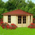 5-Eck Gartenhaus