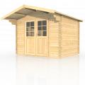 Gartenhäuser mit 40 mm Wandstärke