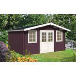 Gartenhaus 372808, 445 x 370 cm, 28 mm