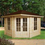 Gartenhaus 5-Eck 403922