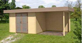 Gartenhaus 372824-B 320 x 260 + 300 cm