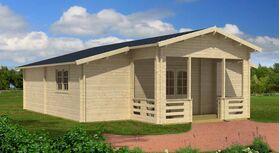 Gartenhaus 375845, 892x1004cm, 58|70mm