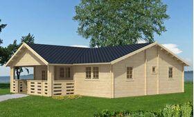 Gartenhaus 375851, 972x1074cm, 58|70mm