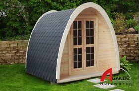 Camping Pod 4x2.4m, 38 mm, 38384
