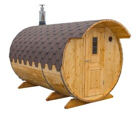 Saunafass liegend, 2+1 m